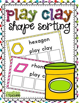 Play Clay Shape Sorting
