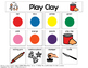Play Clay Visual Support {for Autism}