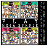 Play Clip Art Mega Bundle {Educlips Clipart}
