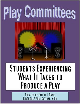 Theater Play Committees, Students Learning Theatre Backstage Duties