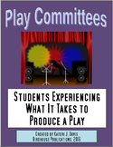 Theater Play Committees, Students Learning Theatre Backsta