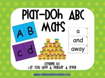 Play-DOH ABC Mats