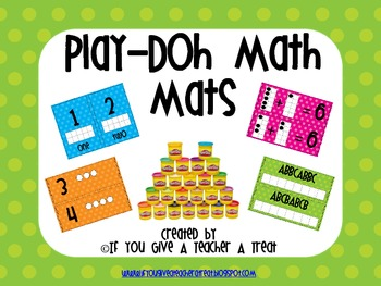 Play-DOH Math Mats