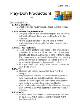 Play-Do Production
