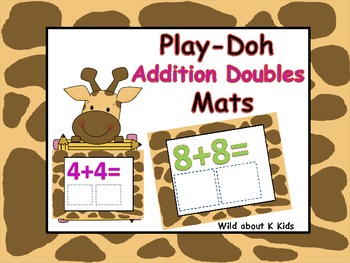 Play-Doh Addition Doubles Mats