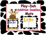 Play-Doh Addition Mats For Math