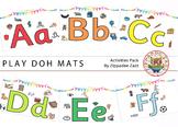 DOLLAR DEAL Play Doh Alphabet Mats / Posters - Boardmaker / Printables