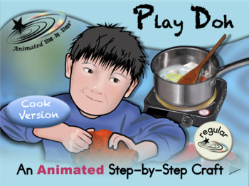 Play Doh - Animated Step-by-Step Recipe/Craft