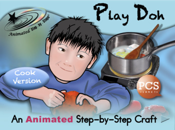 Play Doh - Animated Step-by-Step Recipe/Craft PCS