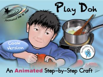 Play Doh - Animated Step-by-Step Recipe/Craft SymbolStix