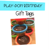 Play-Doh Birthday Gift Tags