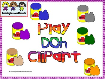 Play Doh Clipart