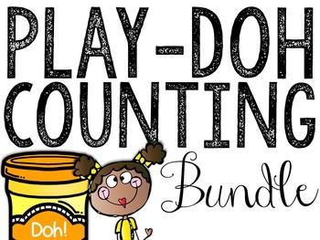 Play-Doh Counting Mats BUNDLE