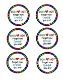 Play Doh Gift Tags