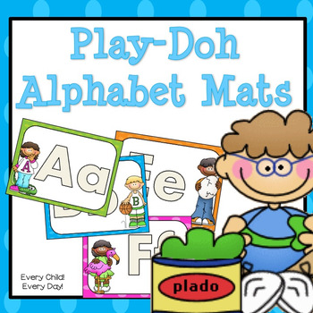 Play-Doh Letter Mats