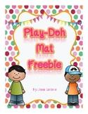 Play-Doh Mat Freebie!