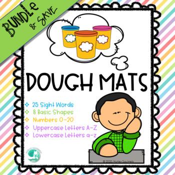 Play Dough Mats BUNDLE!