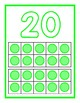 Play Doh Mats Numbers 1-20