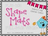 Play-Doh Mats - SHAPES - Large Version