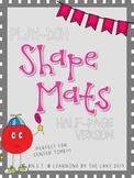 Play-Doh Mats - SHAPES