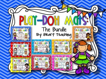 Play-Doh Mats: The Bundle {Common Core Aligned}