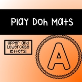 Play-Doh Mats: Uppercase Letters