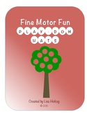 Play-Doh Mats for Fine Motor Fun