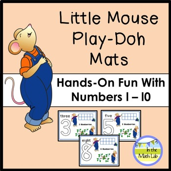 Play-Doh Mats for Numbers 1-10