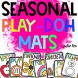 Play Doh Mats for each seasonal Fine Motor Play Doh Mats