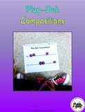 Play-Doh Music Composition Mats