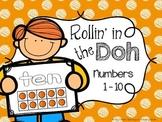 Play Dough Number Mats {Developing Number Sense With Ten Frames}