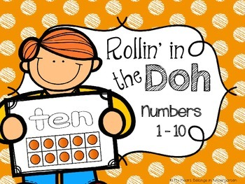 Play Dough Number Mats {Developing Number Sense With Ten Frames}