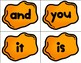 Play Doh / Play Dough Letter Stamps Sight Word Literacy Center Task Cards