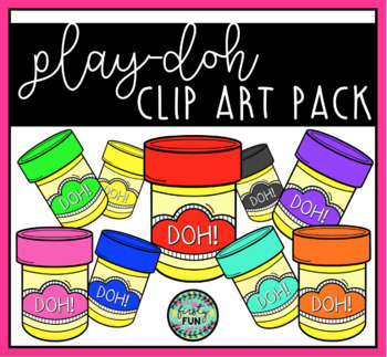 Play-Doh / Playdoh Clipart Pack