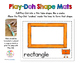 Play-Doh Shape Mats - 13 Shapes Included!