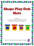Play Doh Shape Mats Basic