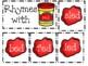 Play-Doh Short Vowel Rhyming Games