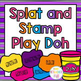 Splat and Stamp Play Doh Sight Words