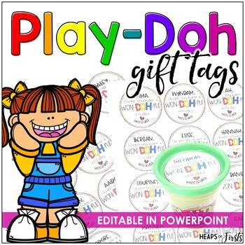 Play-Doh Student Gift Tags