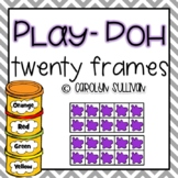 Play-Doh Twenty Frames (numbers 1-20)