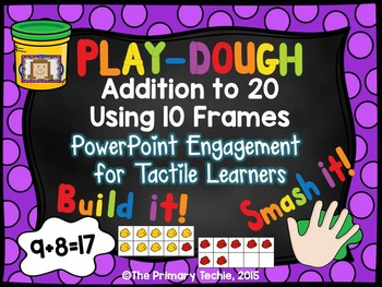 Play Dough Addition to 20 - PowerPoint Engagement