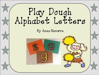 Play Dough Alphabet Letters
