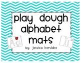 Play Dough Alphabet Mats
