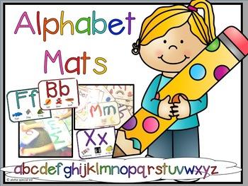Play Dough Alphabet Mats / Book