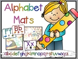 Play Dough Alphabet Mats / Book