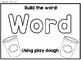 Play Dough Building Dolch Sight Word Mats