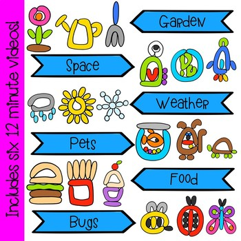 Play Dough Building Pictures Interactive Videos