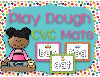 Play Dough CVC Mats