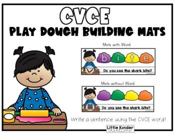 Play Dough CVCE Mats
