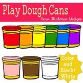 Play Dough Can Clipart